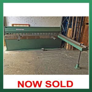 SOLD – Edwards DD Power Guillotine 2535mm x 3.25mm Capacity (EPG2535)