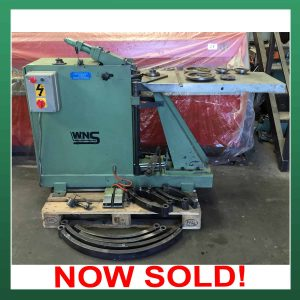 SOLD – SPIRO (SUTER) Elbow Machine / Gorelocker. (SEM02)