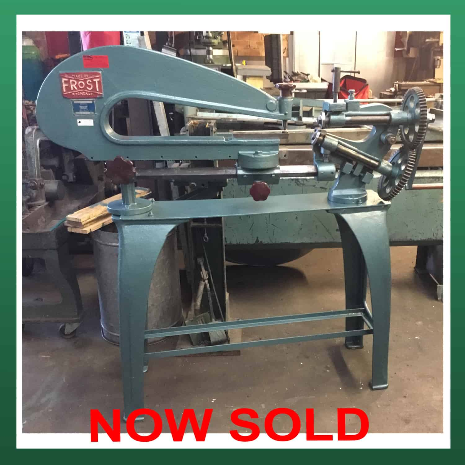 Sold Frost Manual Circle Cutter Fhcc02 Wns W Neal