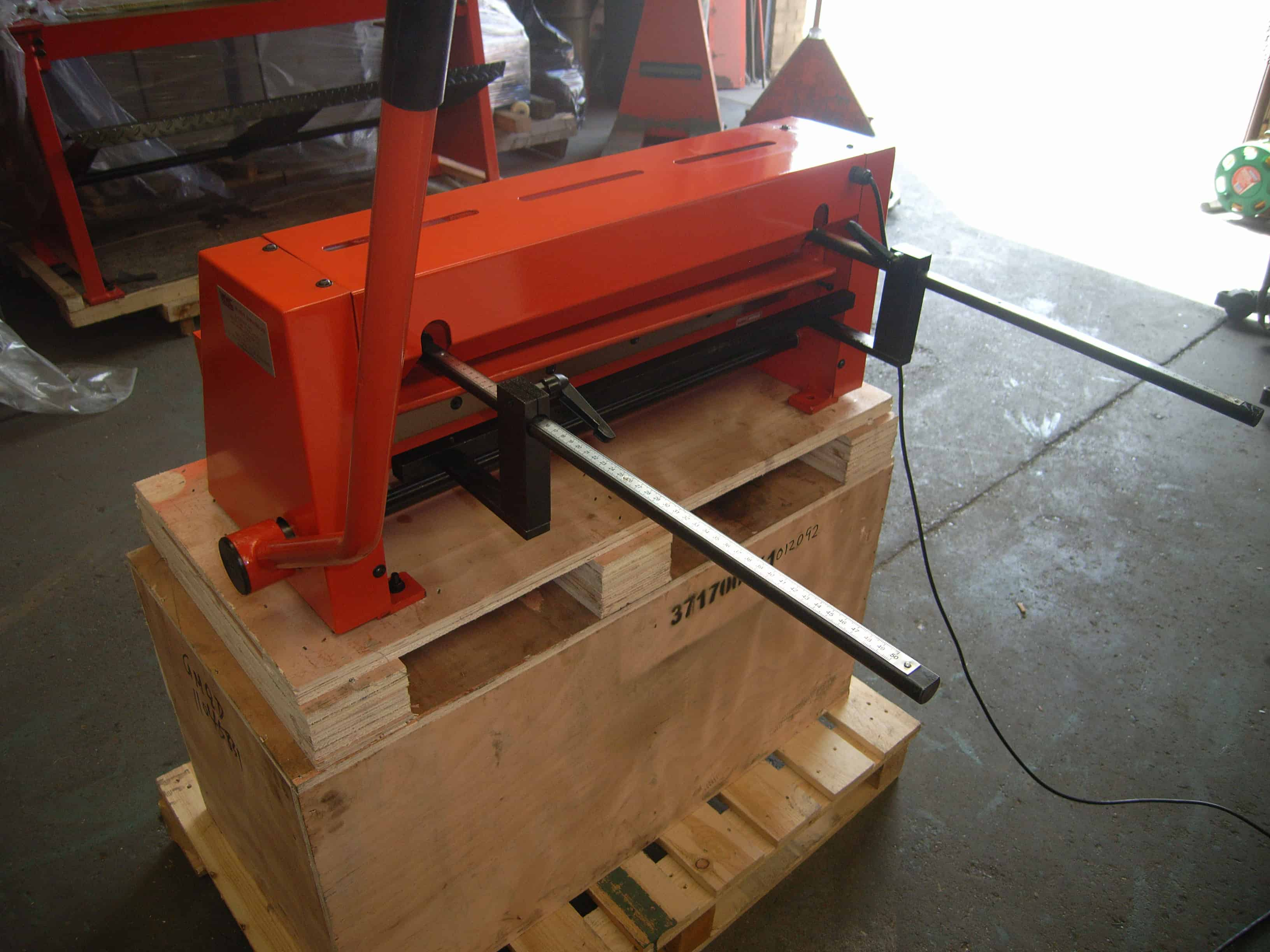 Wns 650mm Lever Guillotine Lg650 Wns W Neal Services