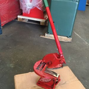 Throatless Shear/ Curved Blade Cropper 100mm