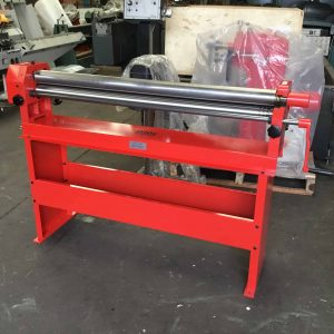 Hand Bending Rolls 1300mm x 75mm x 1.5mm