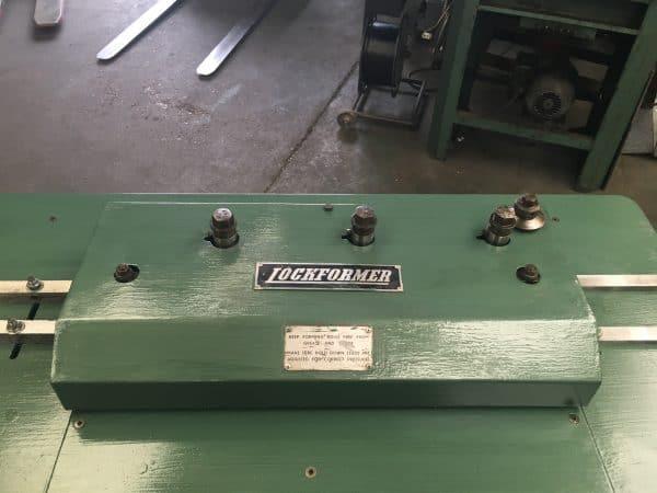 USED OLIVER / LOCKFORMER 16swg Pittsburgh Lock Rollformer (Ref:220)