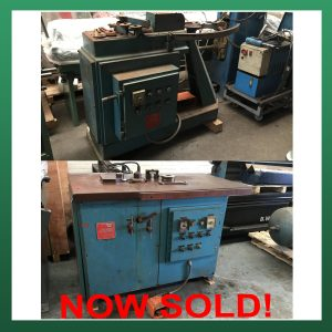 SOLD – SPIRAL HELIX Elbow Machines / Gorelockers – Sold as a pair (EM01 & EM02)