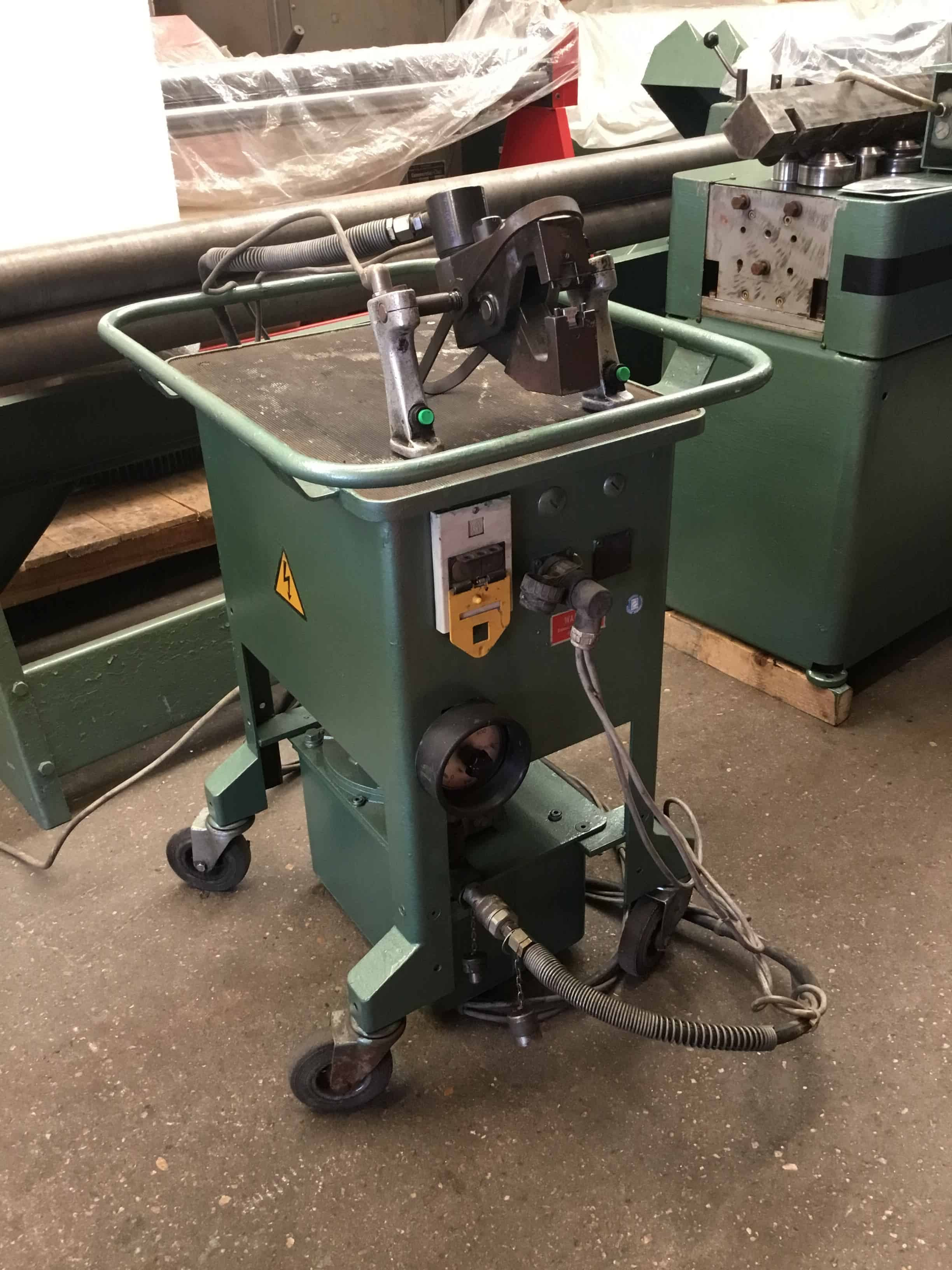 Used Eckold Clinching Pliers Machine Ecm03
