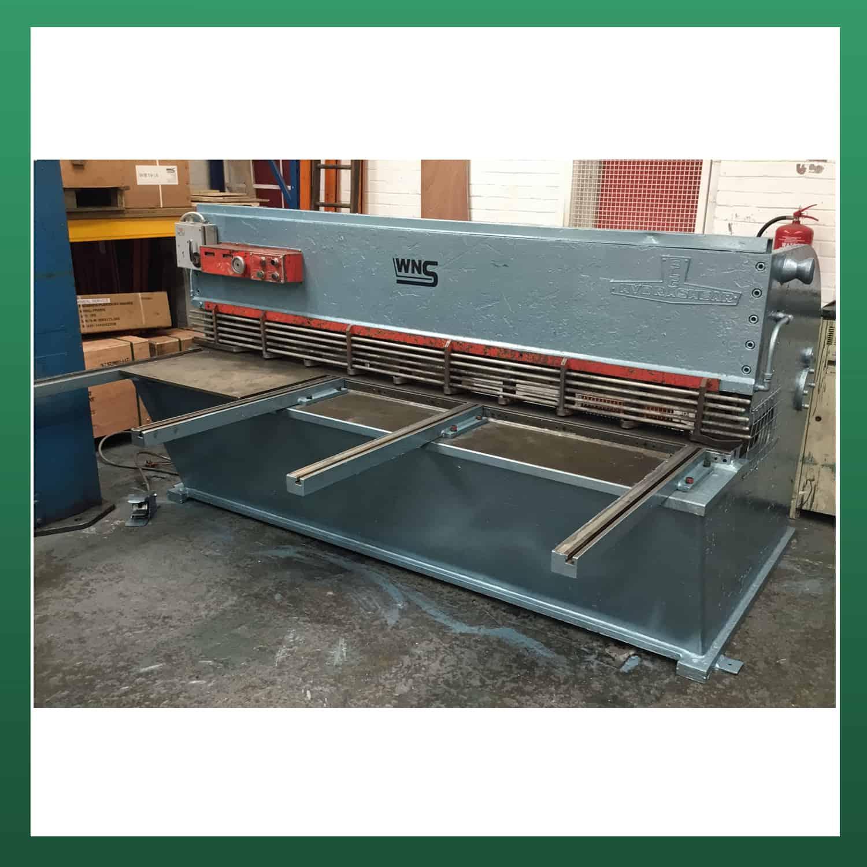elga hydrashear hydraulic guillotine 8ft 2500mm x 1 8 3 0mm rh wnealservices com Pell Cable Cutter Company Hydrashear C 1750