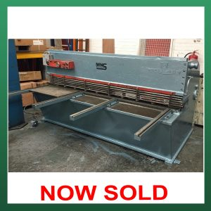 SOLD – ELGA Hydrashear Hydraulic Guillotine 8ft (2500mm) x 1/8″ (3.0mm) Capacity (EPG2500)