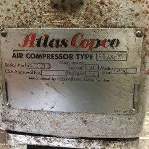 ATLAS COPCO Air Compressor FE23ET (ACAC01)