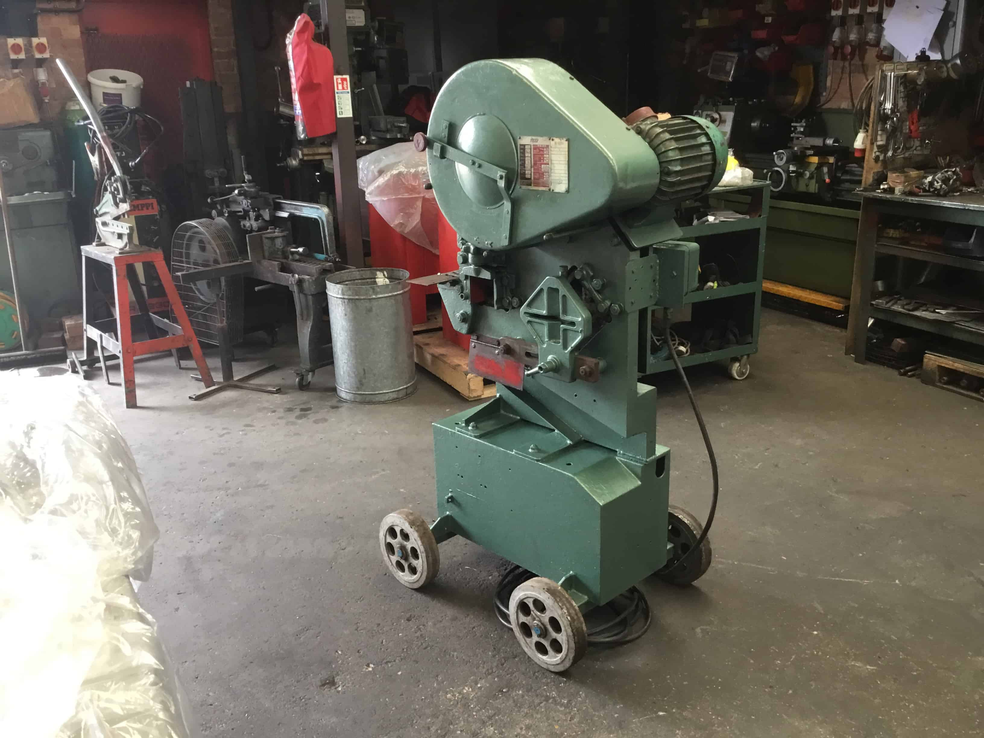 Sold Ficep Punch And Shear Steel Worker Fsw01 Wns
