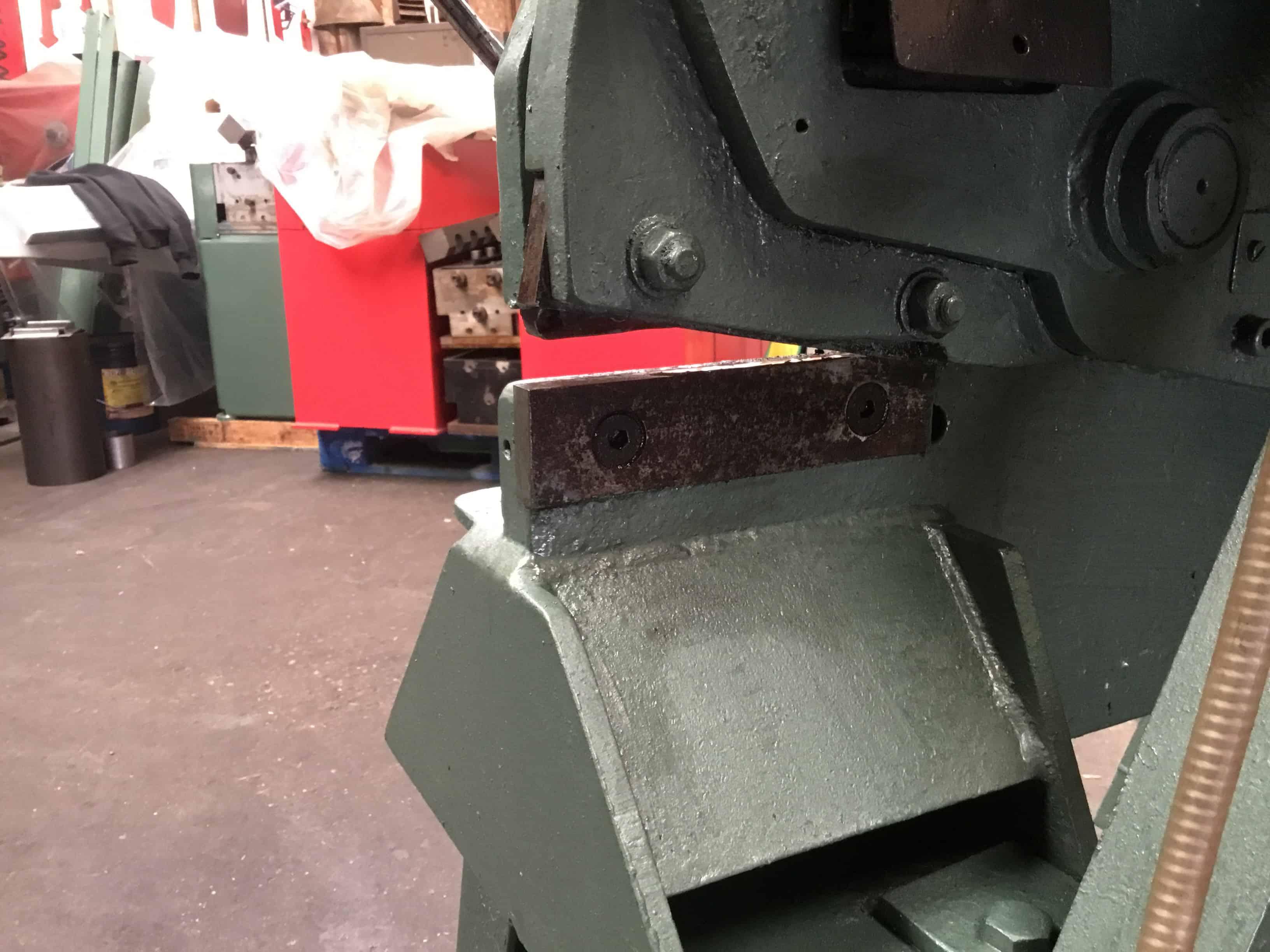 Sold Kingsland Punch And Shear Steel Worker Ksw01