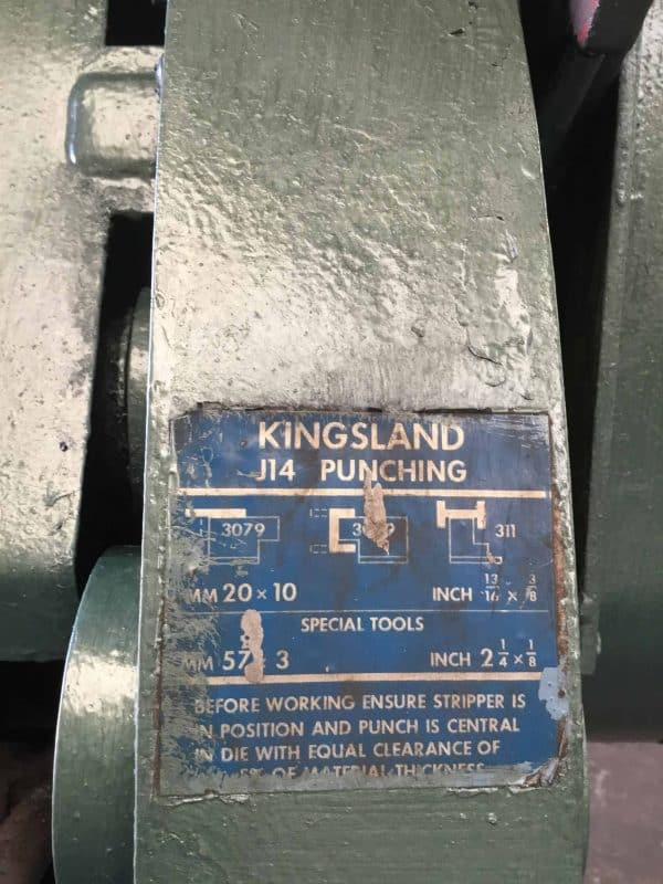 KINGSLAND Punch and Shear Steel Worker (KSW01)