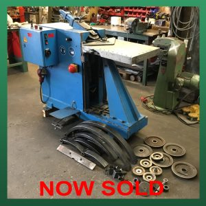 SOLD – SPIRO Beta 3 Hydraulic Gorelocker Elbow Machine