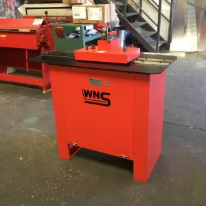 SOLD – WNS 20swg (1.0mm) Rollformer c/w Flanging Attachment (Ref:276)
