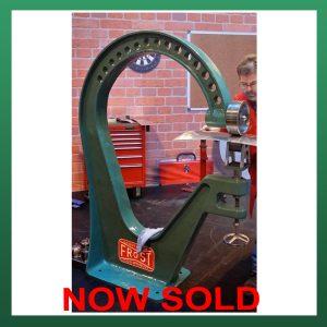 SOLD – FROST Cast Iron English Wheeling Machine 1100mm