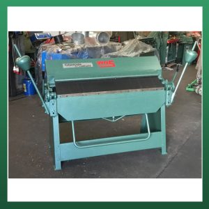 EDWARDS Box and Pan Folder 1270mm x 1.5mm Capacity