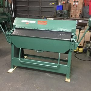 SOLD – EDWARDS Box and Pan Folder 1270mm x 1.5mm Capacity