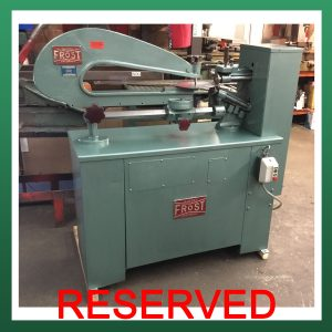 FROST Type 399 Power Circle Cutter
