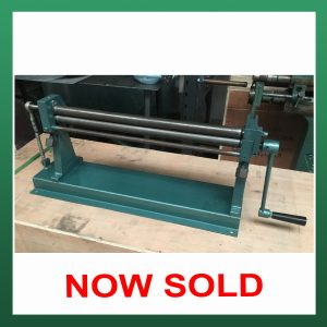 MORGAN RUSHWORTH Bench Bending Rolls 510mm x 25mm